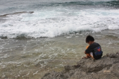 A Boy at Patar Beach