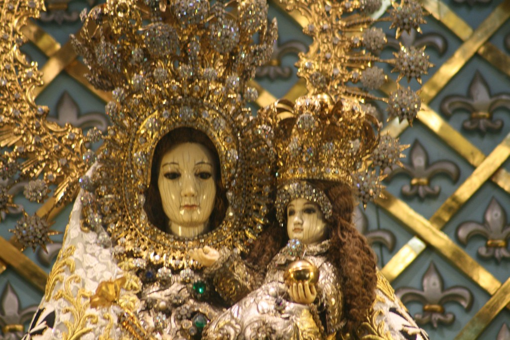 Our Lady of Manaoag (Facial Up Close)