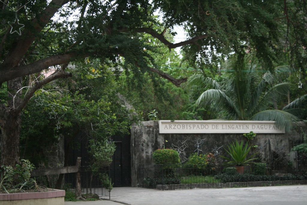 Gate to Archbishop's House