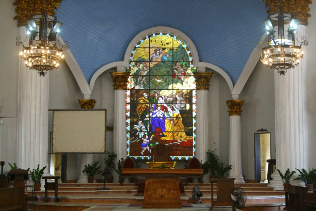 Sta. Barbara Church Altar