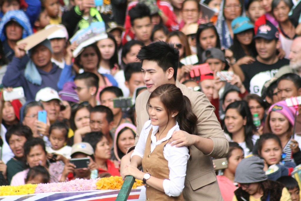 Manolo Pedrosa and Maris Racal - Panagbenga 2016