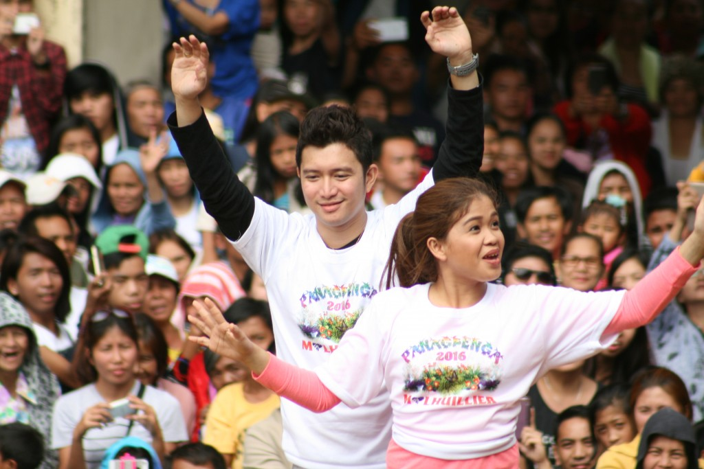 Jason Francisco and Melai Cantiveros - Panagbenga 2016