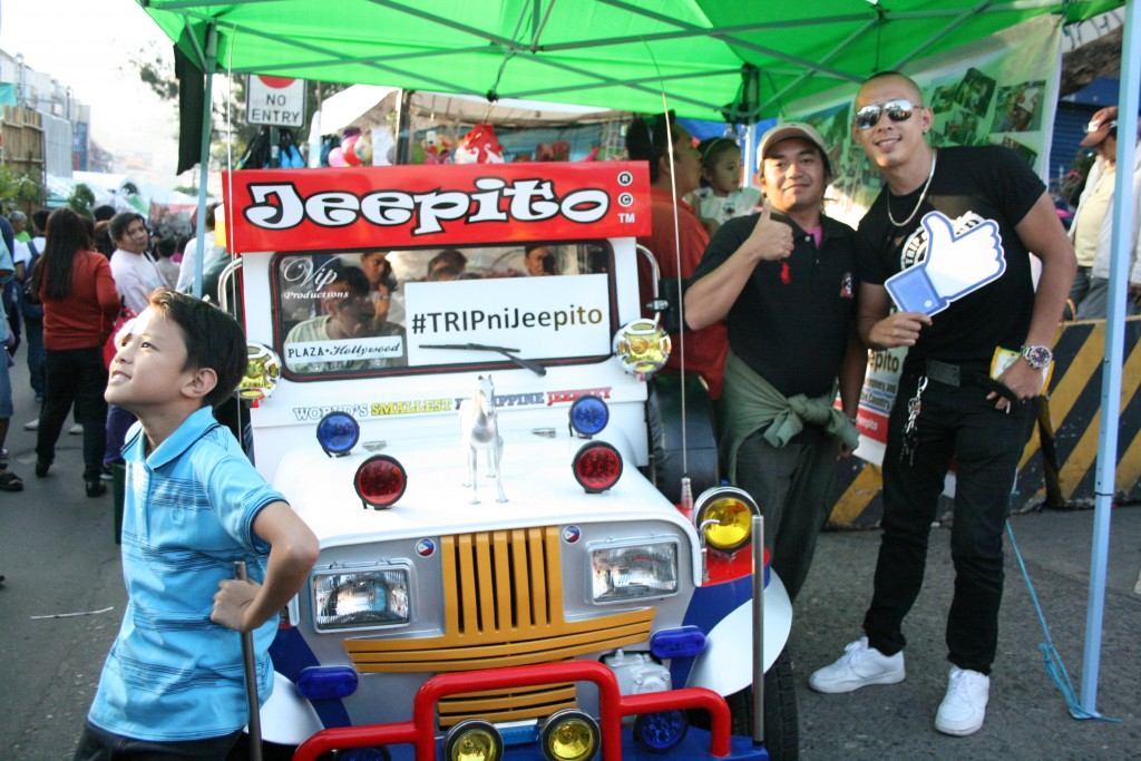 Jeepito and Papa Tsuper with Volts Gabrillo