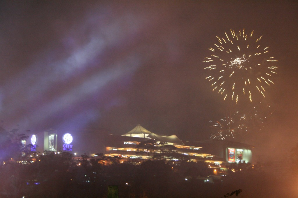 Fireworks Display - Panagbenga 2016