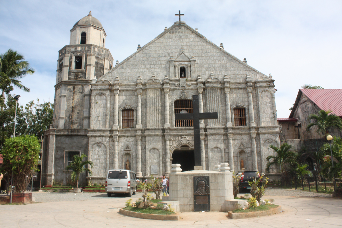 st james the great parish church, bolinao, pangasinan