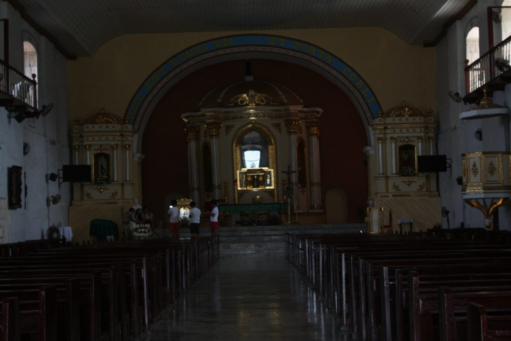 st james the great parish church interior, bolinao, pangasinan