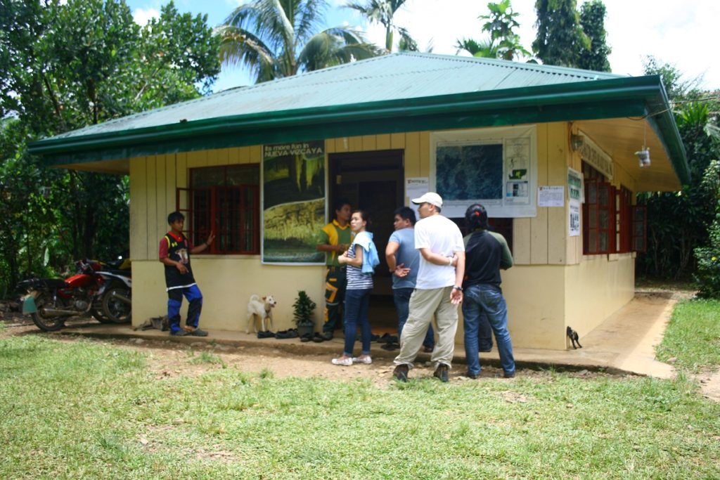 information center and audio visual room, capisaan, kasibu, nueva vizcaya