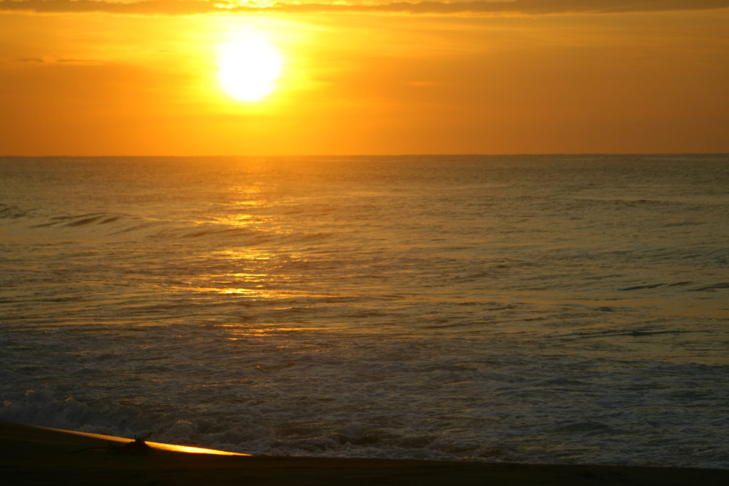 sunset in san juan, la union