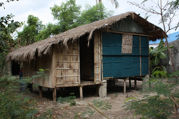filipino traditional nipa hut