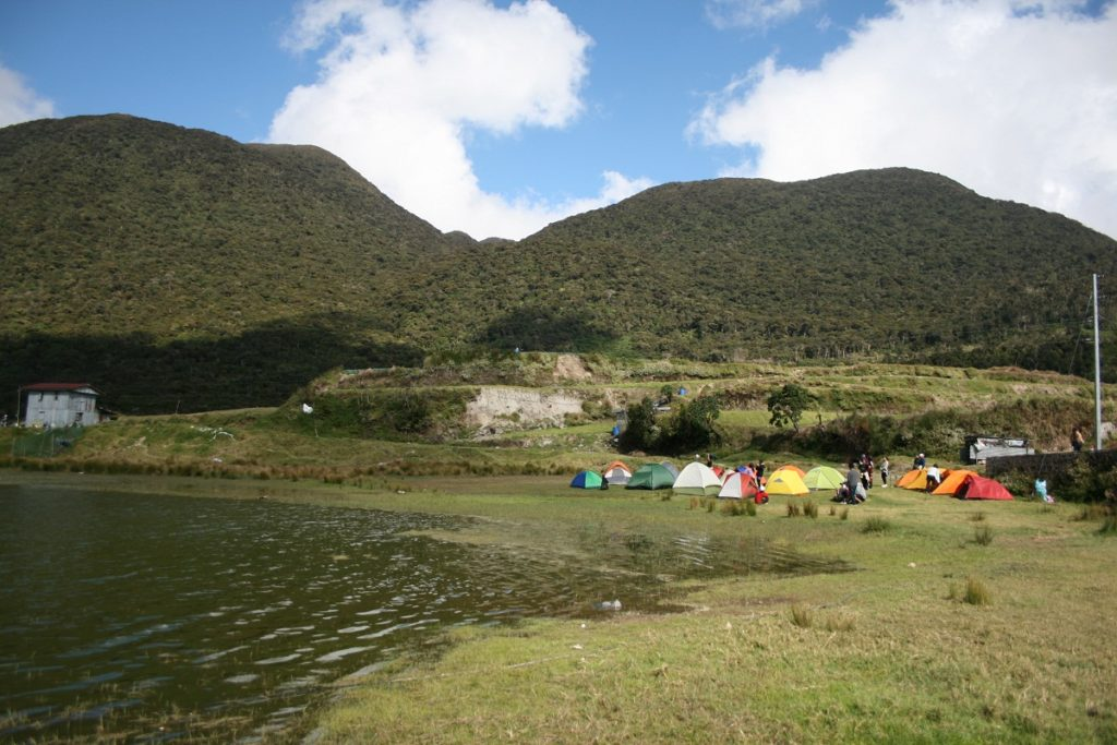 lake tabeo camp site